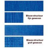 Beukenhouten ligbed met blauwe structuur bekleding (Electric Blue)_