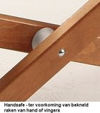 Handsafe hout