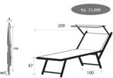 Aluminium ligbed VIP met groene structuur bekleding (Seeweed)_