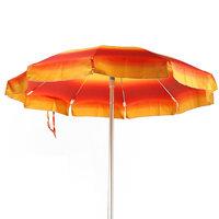 Parasol met aluminium steel en zij-flappen
