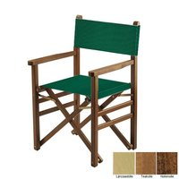Beukenhouten regisseursstoel - groen (Regista Verde Classico)