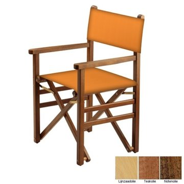 Beukenhouten regisseursstoel - amber (Regista Ambra Classico)