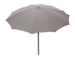 Parasol met aluminium steel