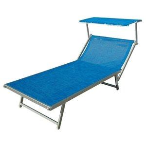 aluminium VIP ligbed blauw structuur
