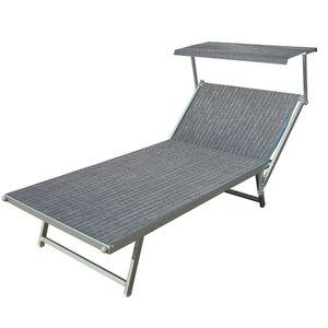 aluminium ligbed VIP grijs