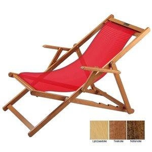 houten ligbed rood grof